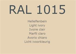 RAL1015 Hellelfenbein
