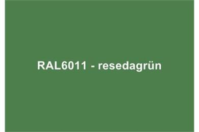 RAL6011 Resedagrün