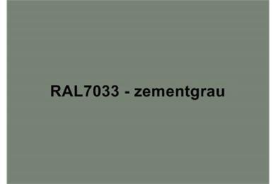 RAL7033 Zementgrau