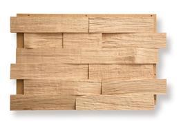 Eiche Spaltholz Spaltrau natur 6cm 0.99m² / Pack