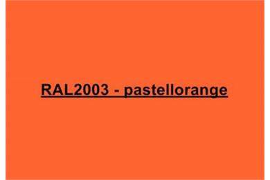 RAL2003 Pastellorange