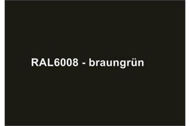 RAL6008 Braungrün