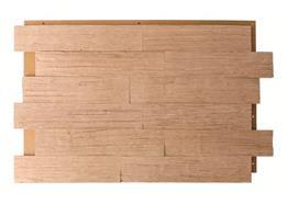chêne bois fendu huilé 6cm 0.99m² / Pac