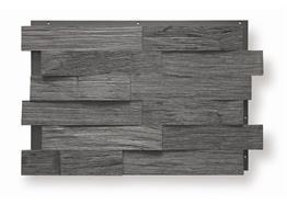 Eiche Spaltholz carbon 6cm 0.99m² / Pack