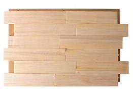 épicéa bois fendu naturel 6cm 0.99m² / Pac