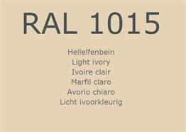 RAL 1015 Ivoire clair