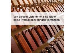 ABS Birnbaum braun Holzpore 1 x 23mm