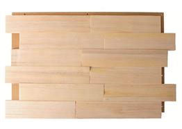 Fichte/Tanne Spaltholz geölt 6cm 0.99m² / Pack