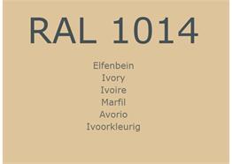 RAL1014 Elfenbein